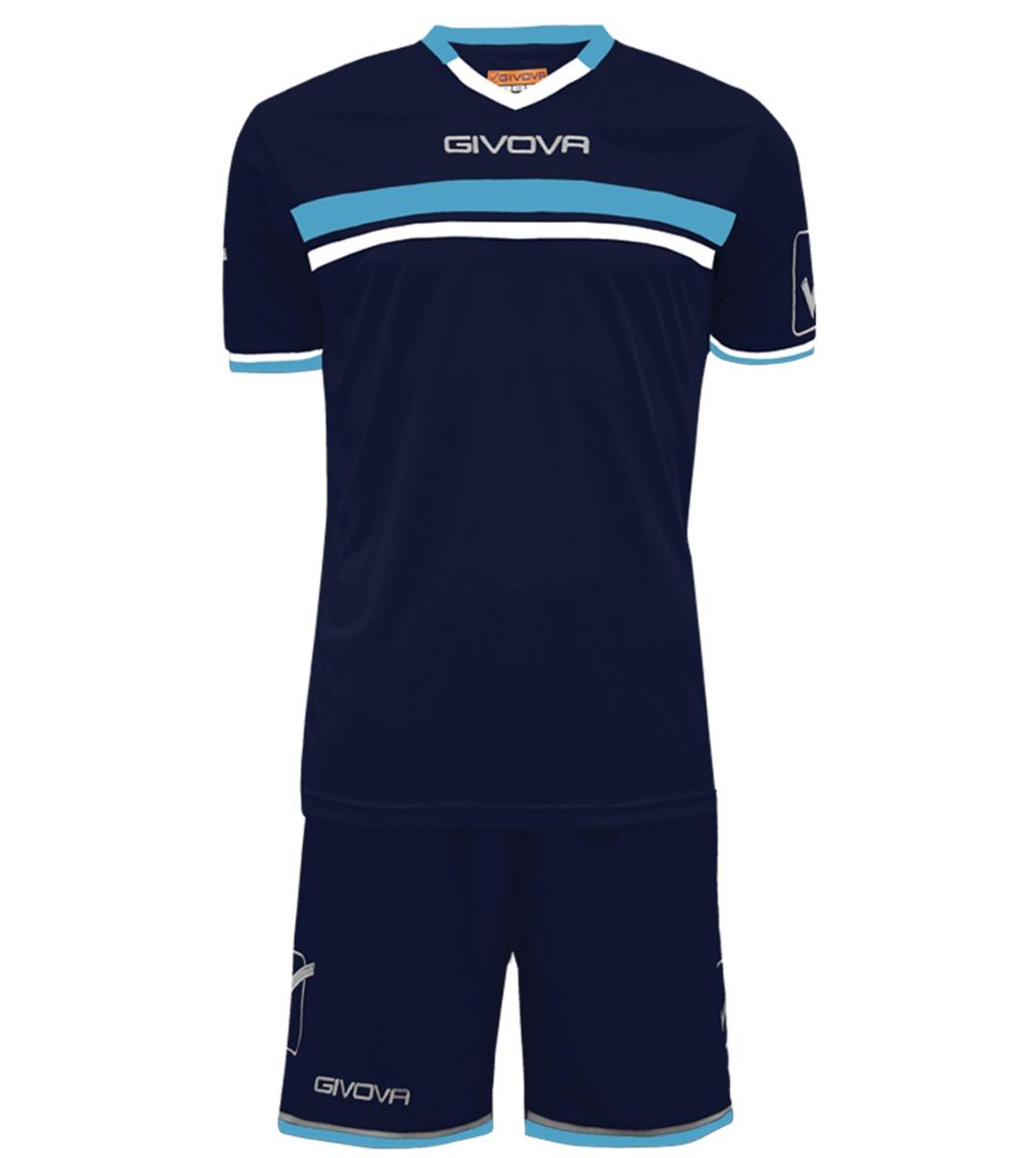 Kit-Game-Calcio-Sport-GIVOVA-Abbigliamento-Sportivo-Uomo-Calcistico-GIOSAL miniatura 18