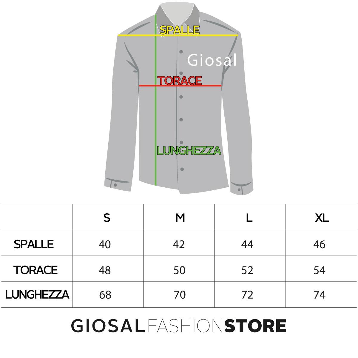 Camicia-Uomo-Jeans-Denim-Collo-Coreano-Sfrangiato-Primaverile-Casual-GIOSAL miniatura 4