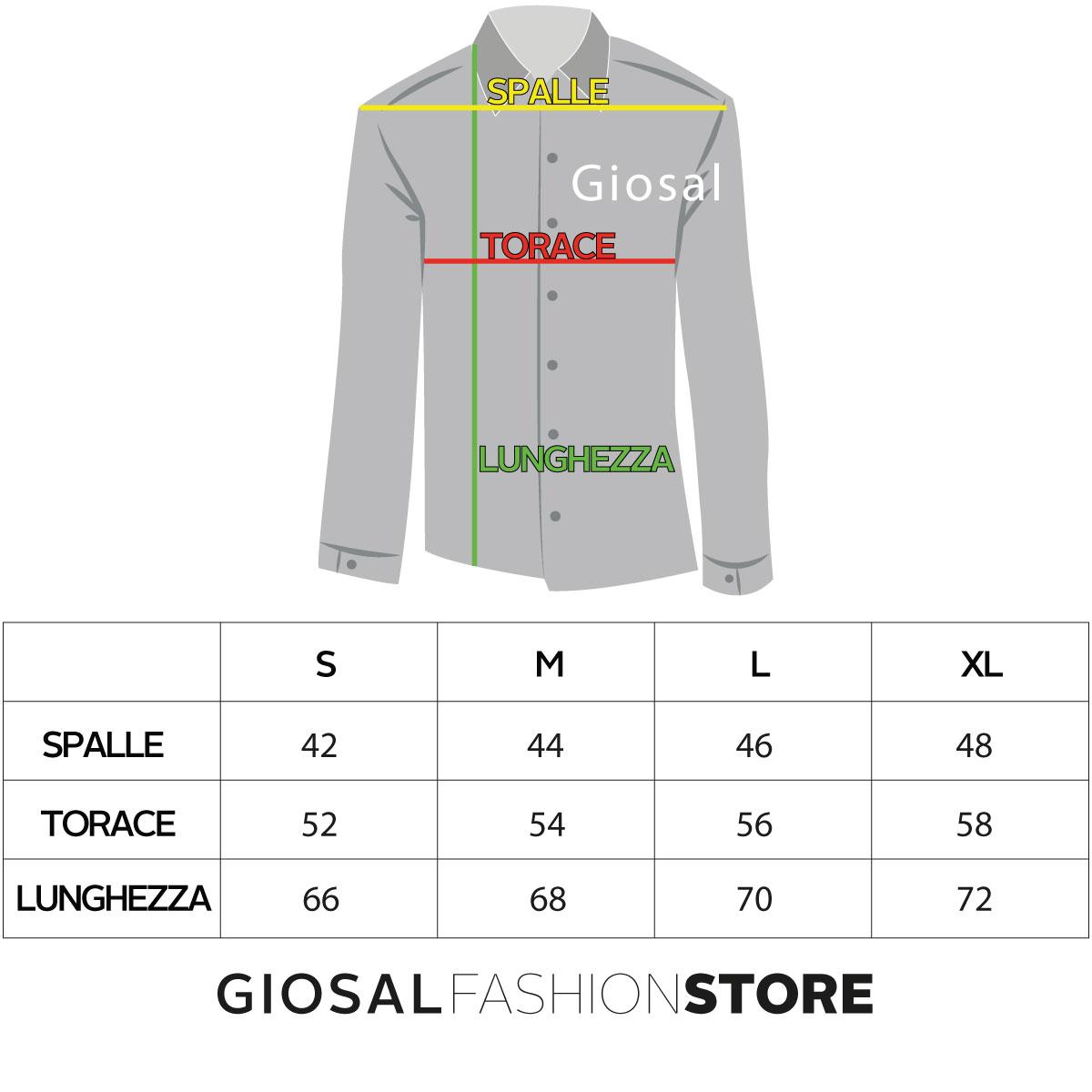 Camicia-Uomo-Collo-Coreano-Tinta-Unita-Blu-Lino-Maniche-Lunghe-Casual-GIOSAL miniatura 6