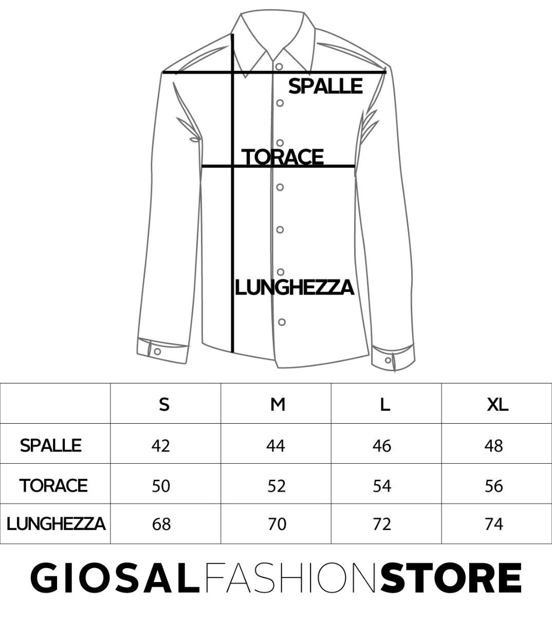 Camicia-Uomo-Lino-Maniche-Lunghe-Colletto-Tinta-Unita-Rossa-GIOSAL miniatura 7