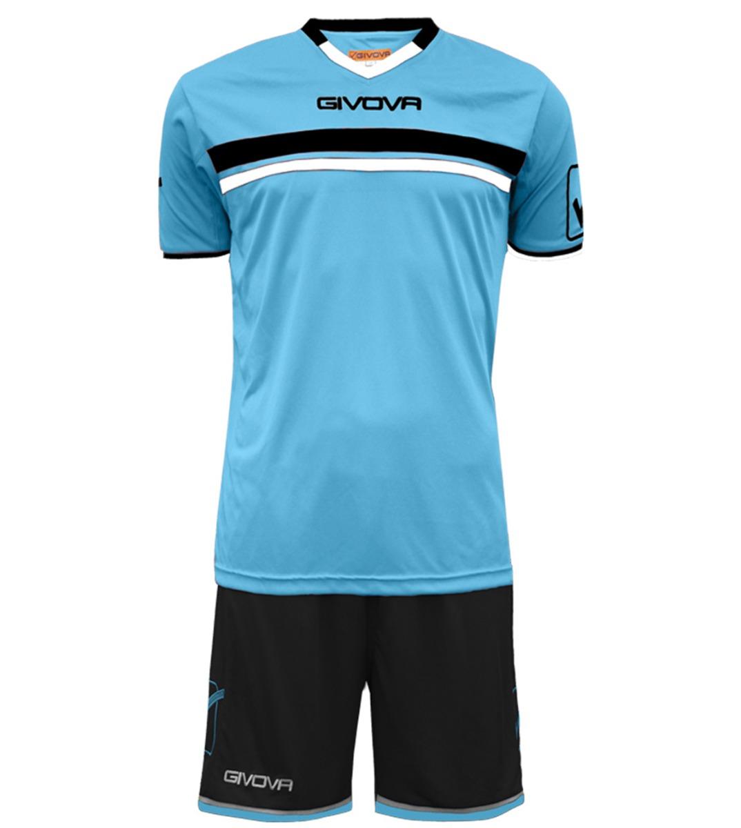 Kit-Game-Calcio-Sport-GIVOVA-Abbigliamento-Sportivo-Uomo-Calcistico-GIOSAL miniatura 10