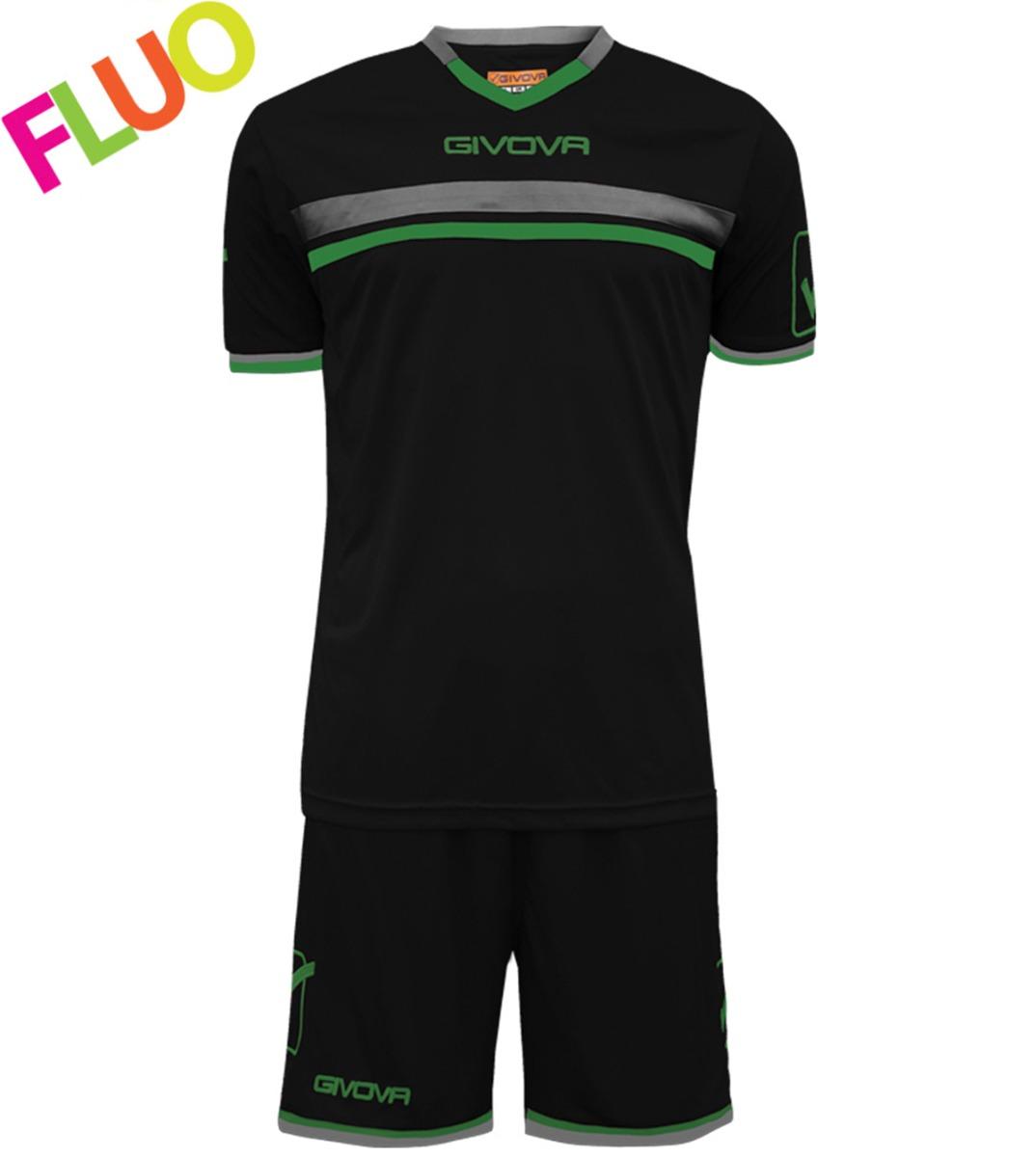 Kit-Game-Calcio-Sport-GIVOVA-Abbigliamento-Sportivo-Uomo-Calcistico-GIOSAL miniatura 11