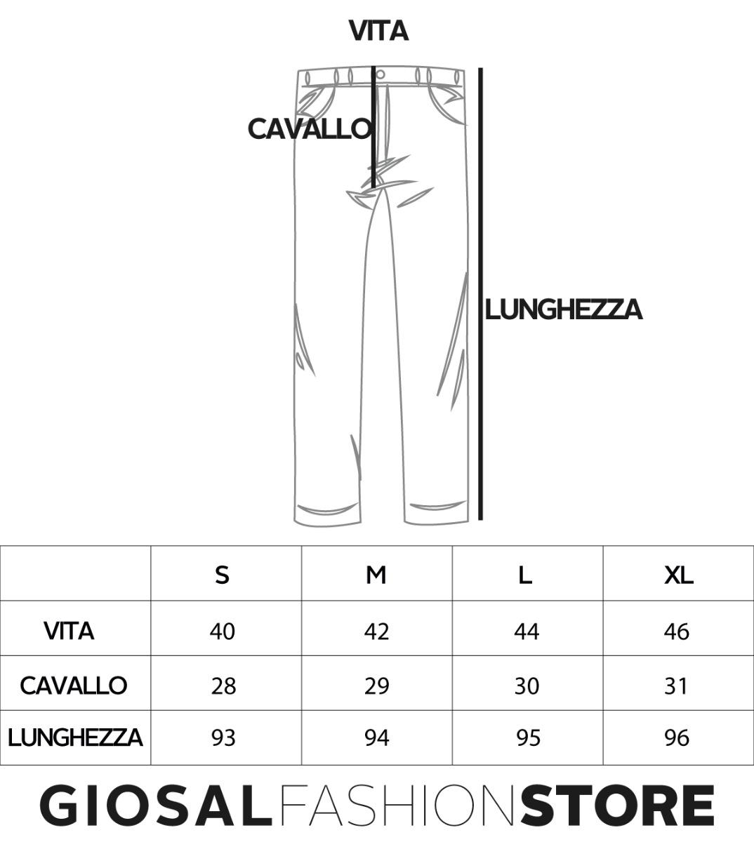 Pantalone-Uomo-Tinta-Unita-Blu-Tasca-America-Cavallo-Basso-Misto-Lino-Viscosa miniatura 7