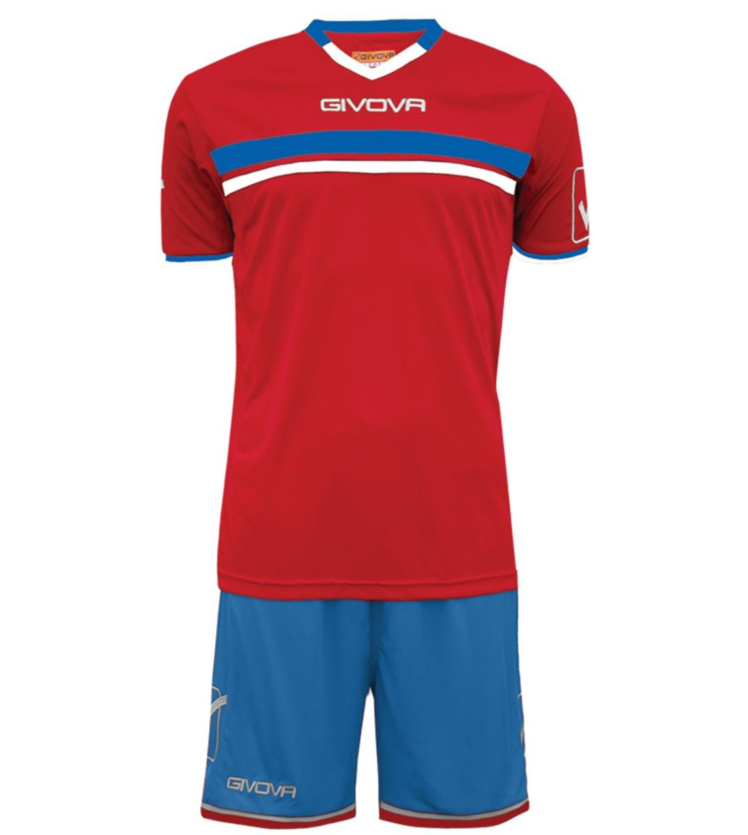 Kit-Game-Calcio-Sport-GIVOVA-Abbigliamento-Sportivo-Uomo-Calcistico-GIOSAL miniatura 13