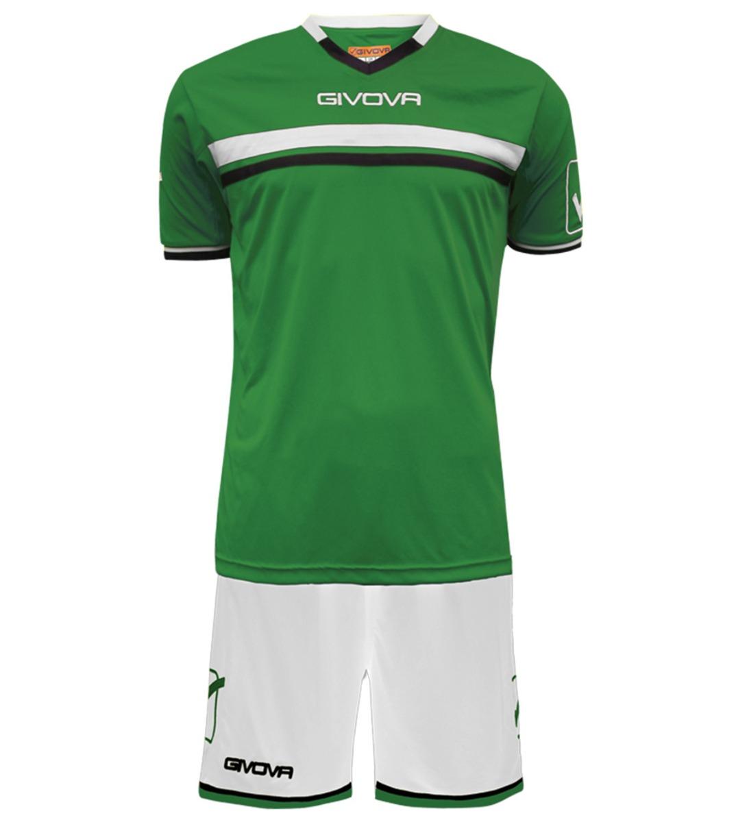 Kit-Game-Calcio-Sport-GIVOVA-Abbigliamento-Sportivo-Uomo-Calcistico-GIOSAL miniatura 17
